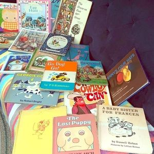 Lot of 17 used kids books hard cover